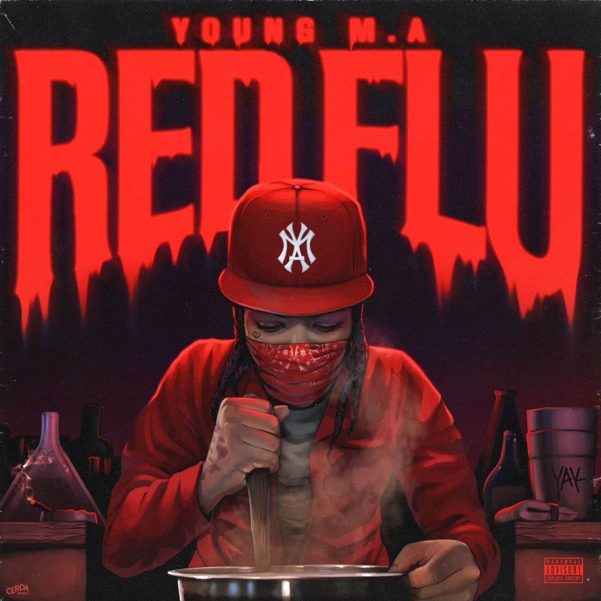 """Redflu"" EP cover art"