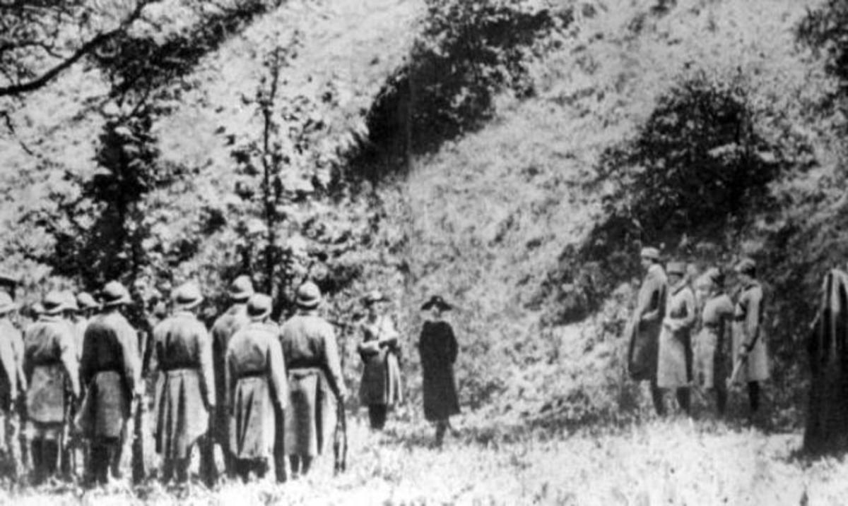 Mata Hari execution