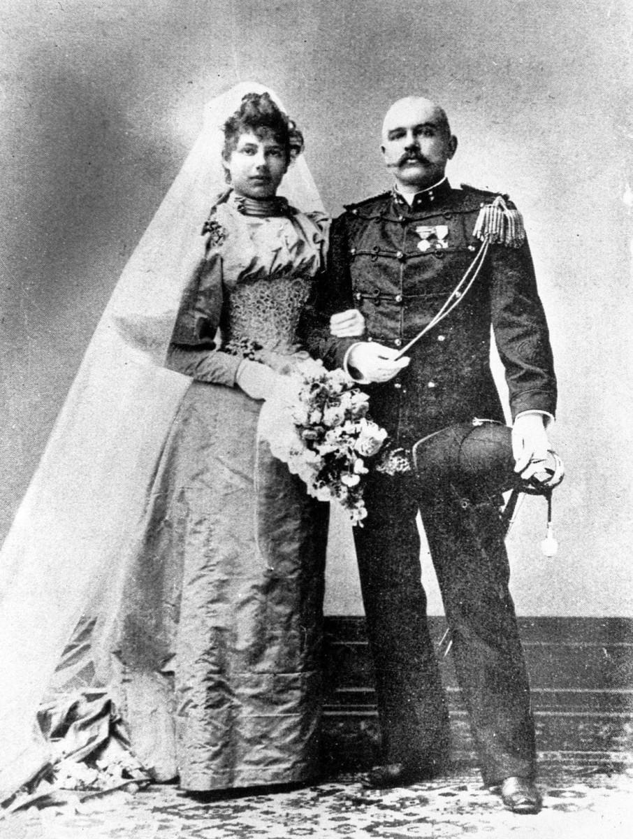 Mata Hari marriage