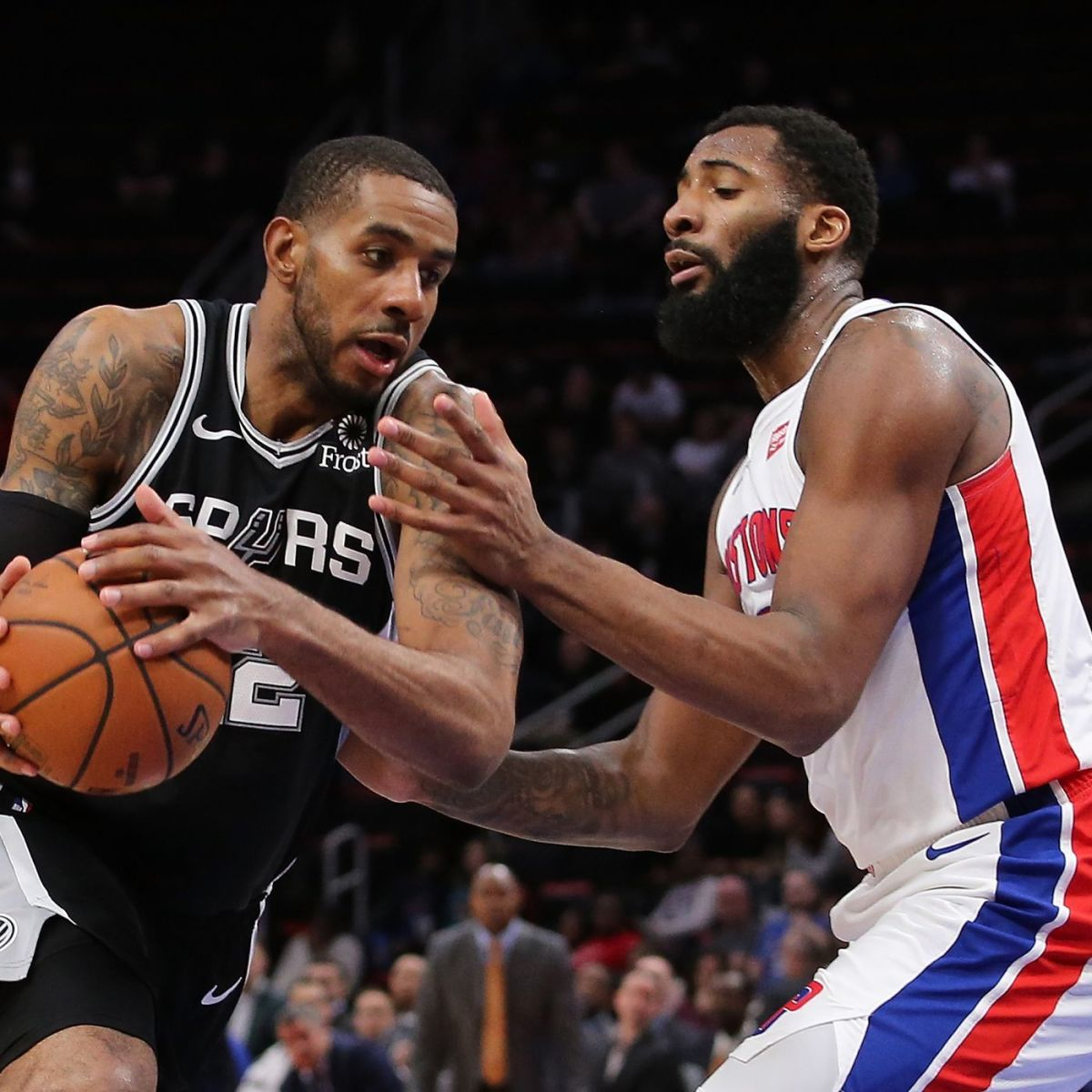 Cavs C Andre Drummond and Spurs F LaMarcus Aldridge have been bought out and are now in free agency.