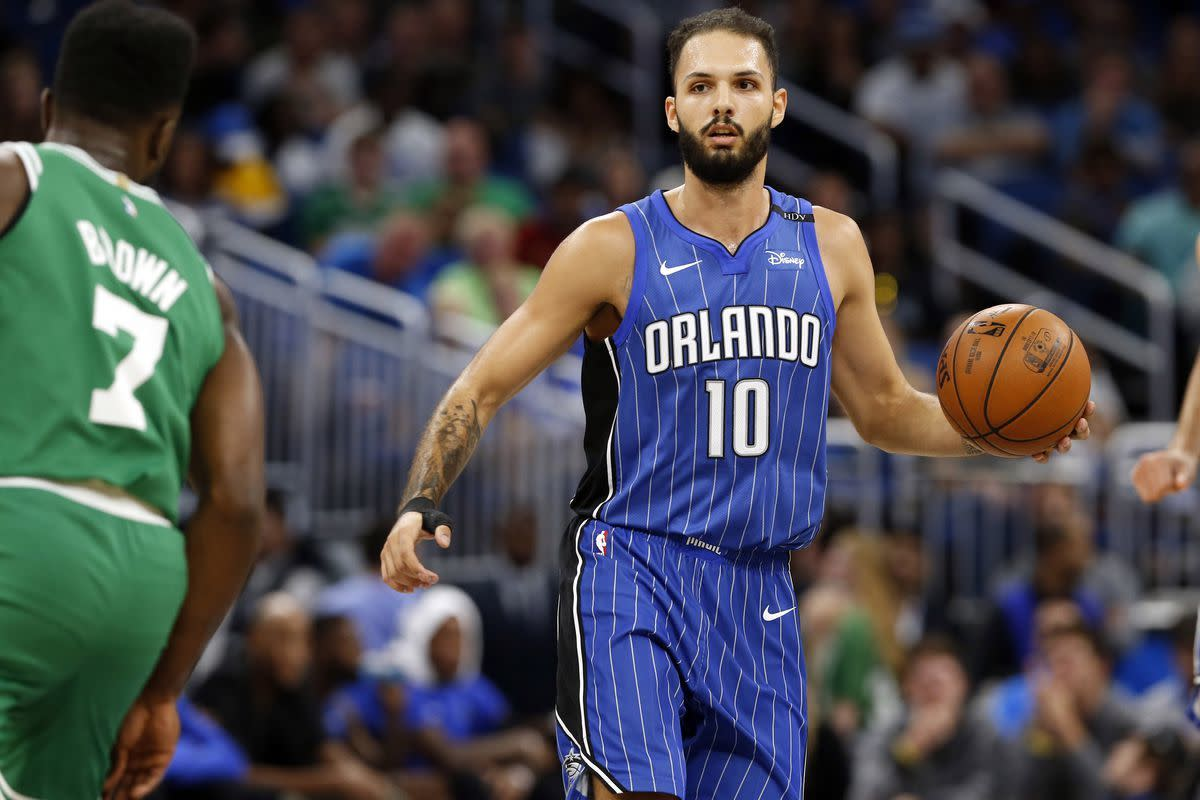 Celtics trade two second round picks for Evan Fournier. Also trade away Daniel Theis and Javonte Green and gain Mo Wagner and Luke Kornet. Also the Magic will be taking Jeff Teague as a part of the Fournier trade.