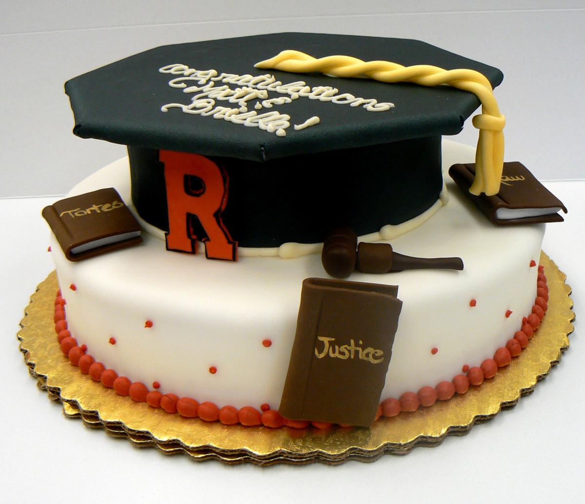 6 unique graduation gift ideas for high school and college graduation cap cake negle Gallery