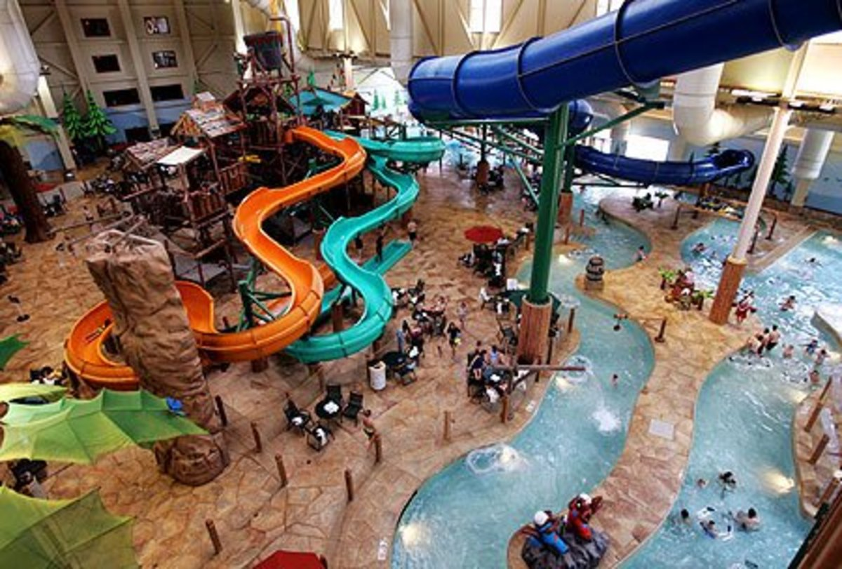 Best Indoor Waterpark ... Biggest Waterslide In The World 2012