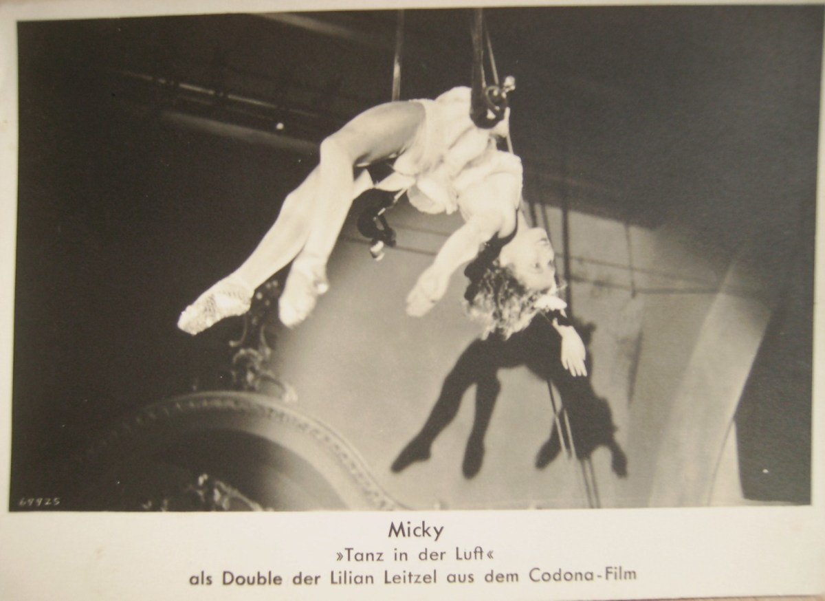 micky dance in the air...promo photo for a movie