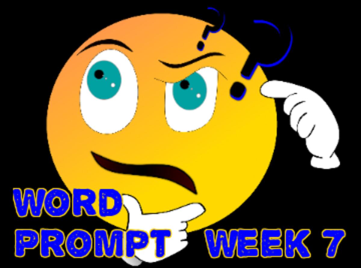 Word Prompts Help Creativity / Week 7