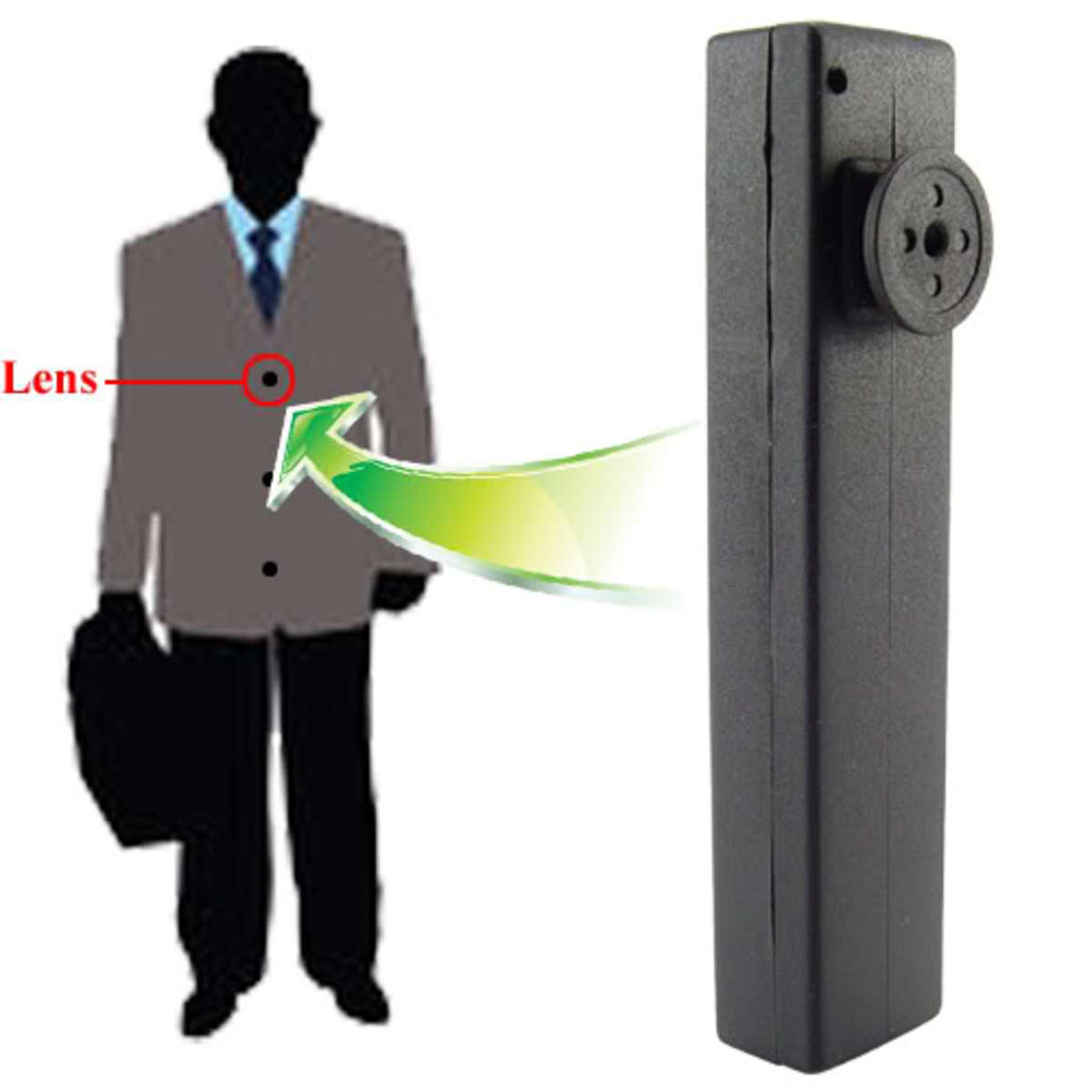 10 Different Types of Spycam Gadgets