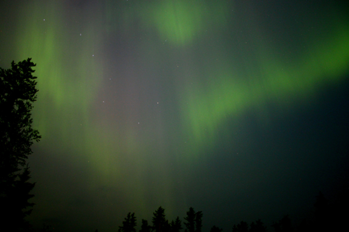 (Northern Lights) is created when particles of energy from the sun interact with the Earth's magnetic field.