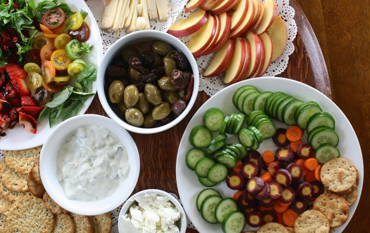 Learn how to build the perfect crudite plate