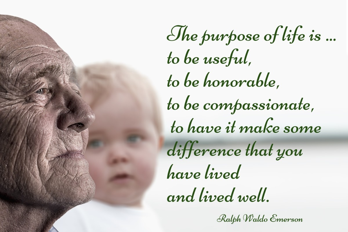 The purpose of life is ... to be useful.