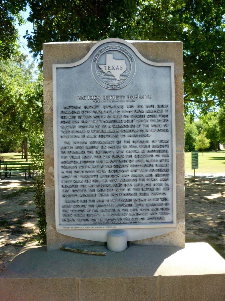 Texas Historical Commission Sign
