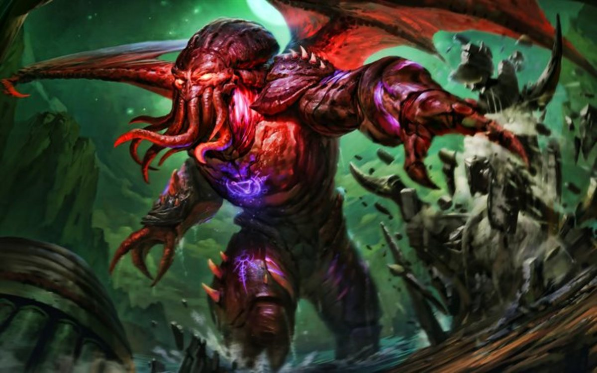 Cthulhu in Smite