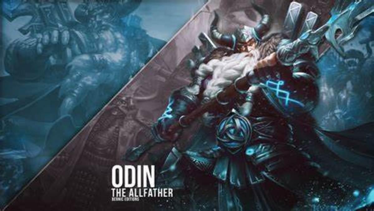 Odin in Smite