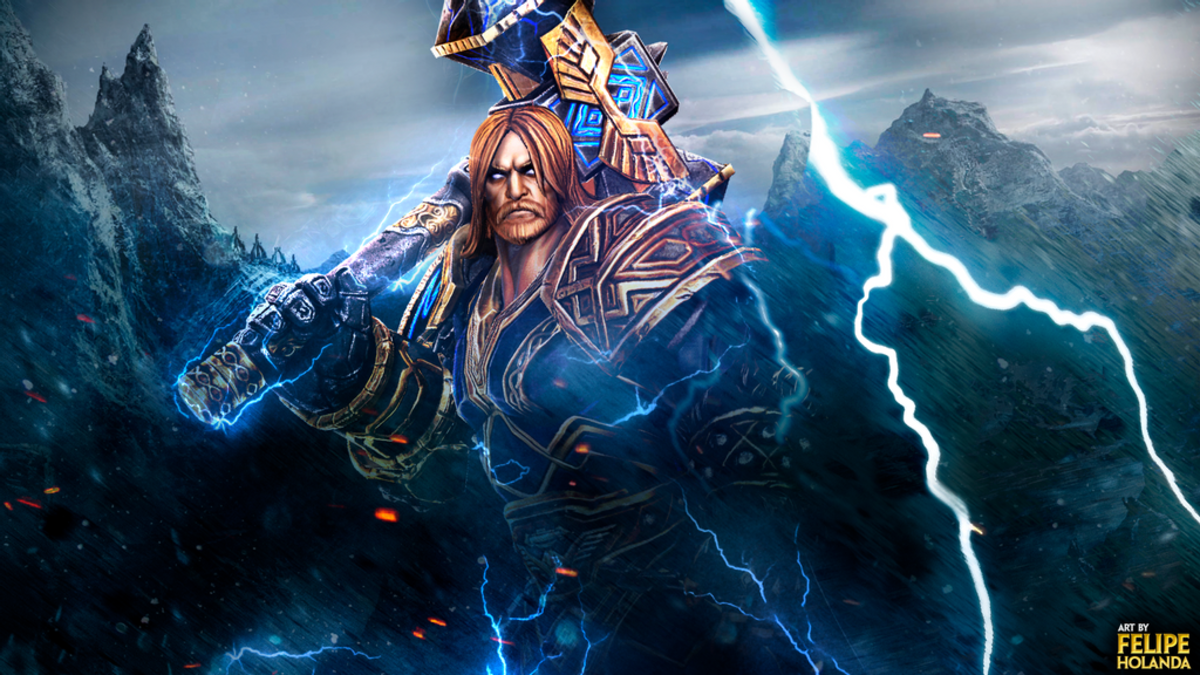 Thor in Smite