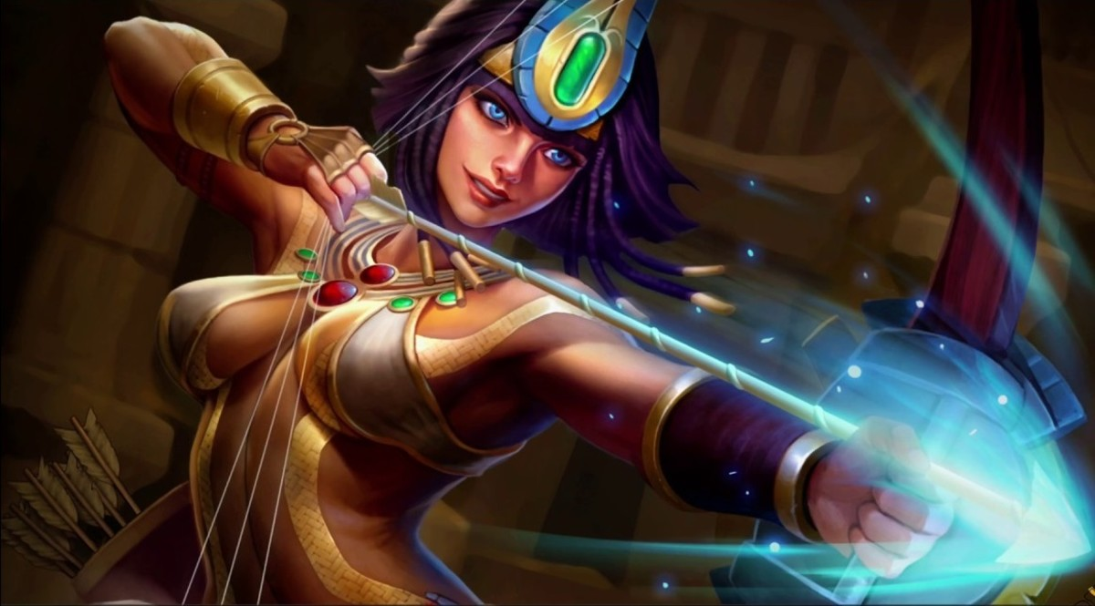 Neith in Smite