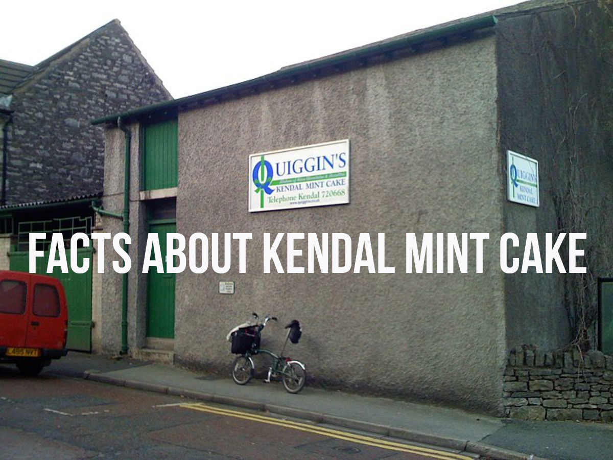 The Quiggin's factory on Lower Fellside, Kendal, Cumbria, UK. For my facts about Kendal mint cake, please read on...