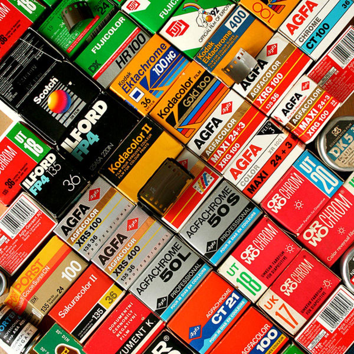 Review of Kodak , Afga and Fujichrome Color Films