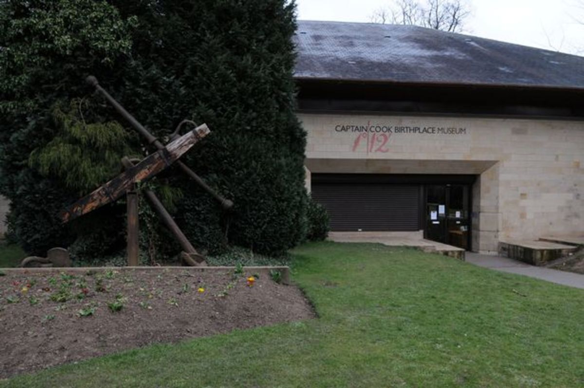 The Captain Cook Birthplace Museum in Stewart Park, Marton - opposite the hospital that bears his name