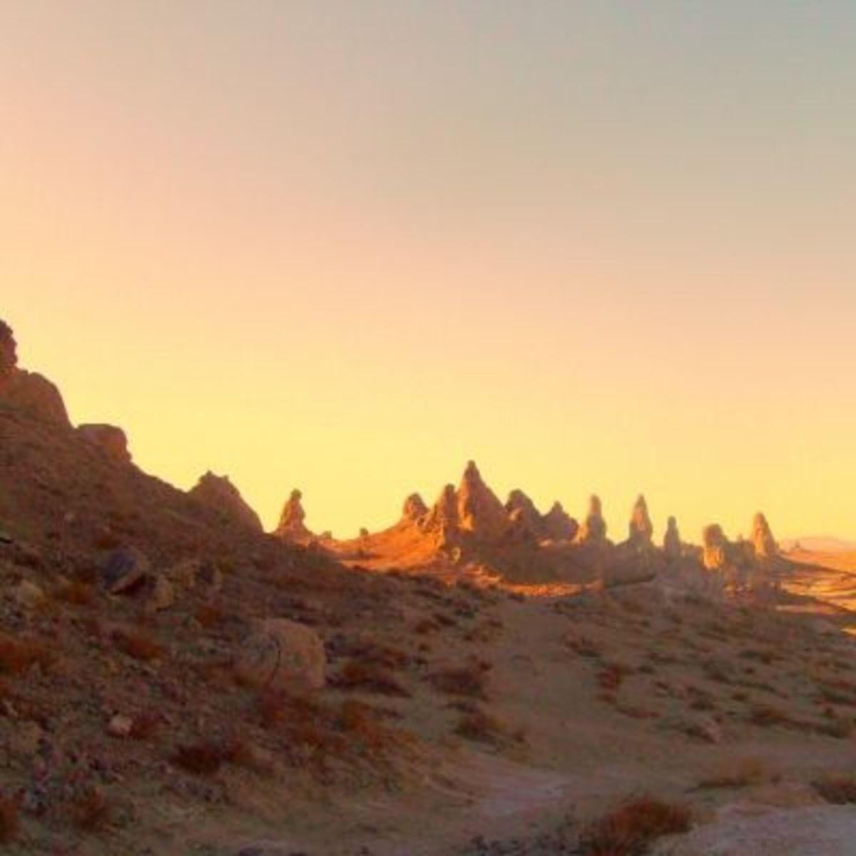 Fantasy Land Trona Pinnacles