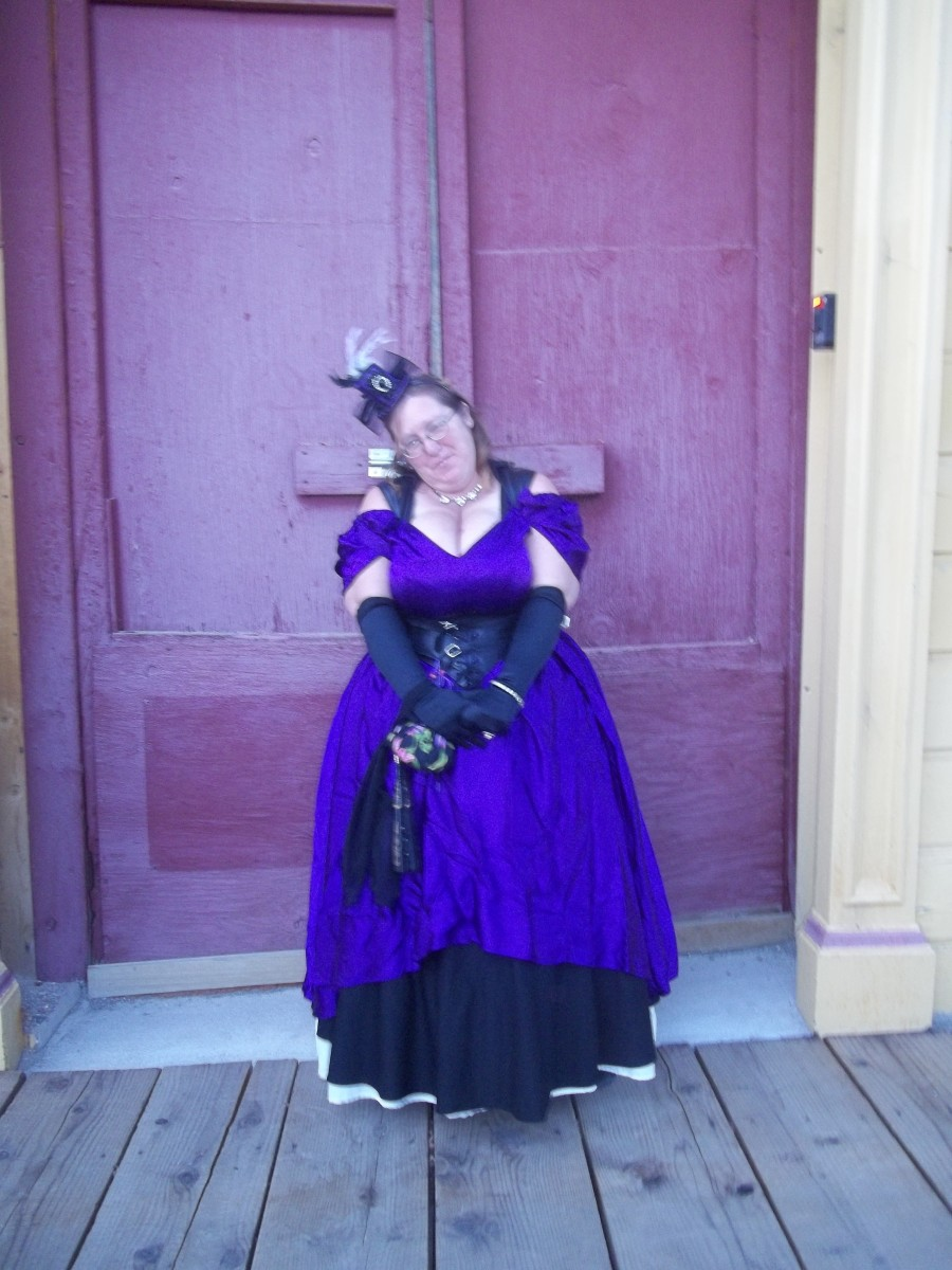 At the Virginia City Steampunk Invasion, September 2014