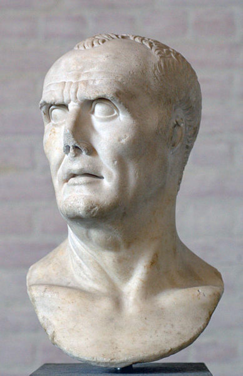 A bust of Gaius Marius.