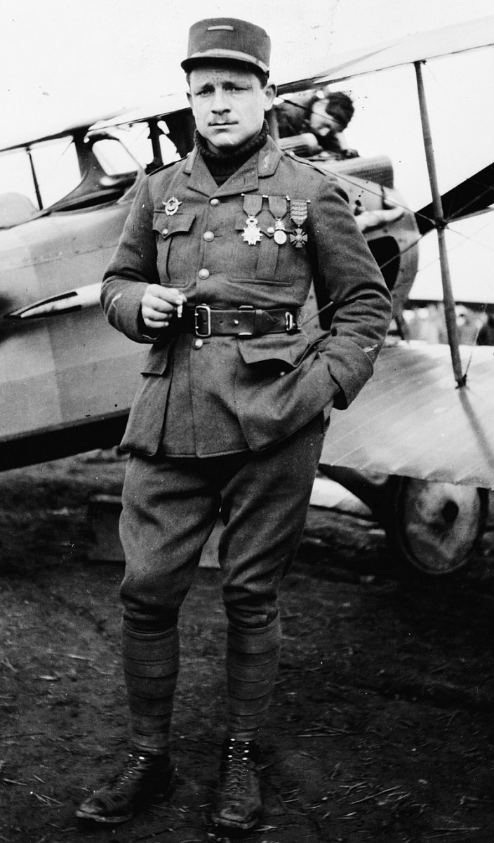 Major Raoul Lufbery would give Rickenbacker the experience he needed to survive in the air above the Western Front. Photo of Gervais Raoul Lufbery (1885-1918). Born in 1885, Lufbery grew up in a tiny French village with his grandparents.