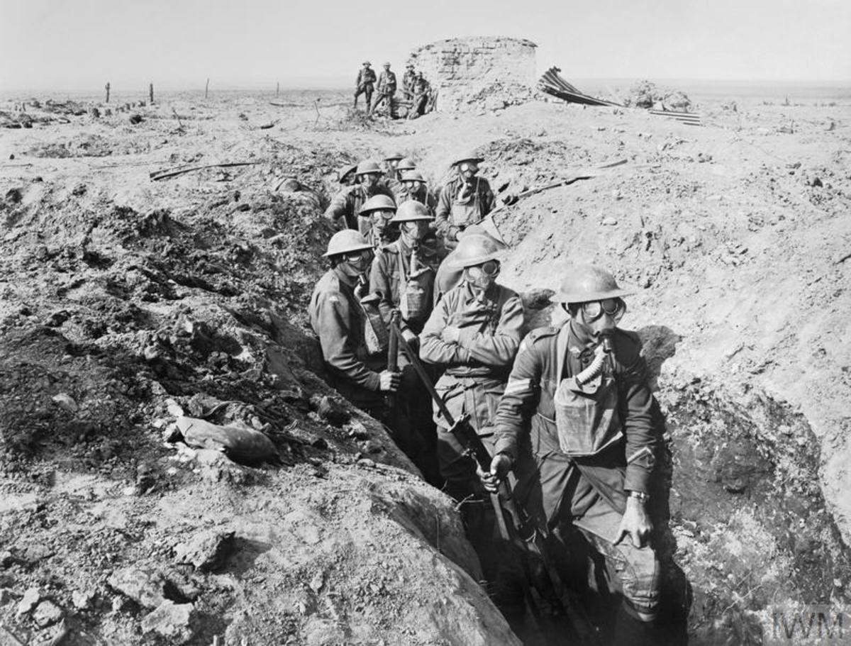 Soon after the First World War began both sides became locked in a stalemate along the Western Front.