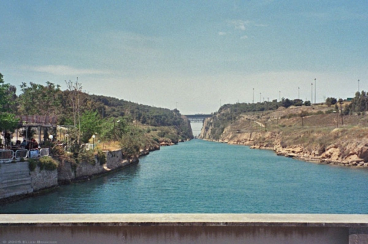 The Corinth Canal