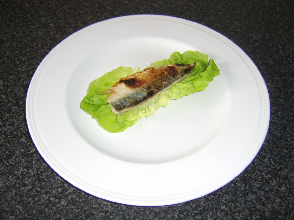Pan Fried Mackerel Fillet