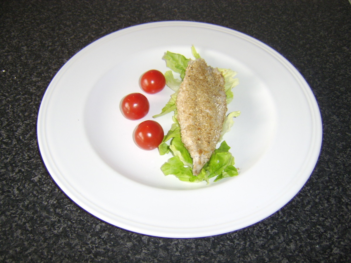 Pan Fried Mackerel in Oatmeal