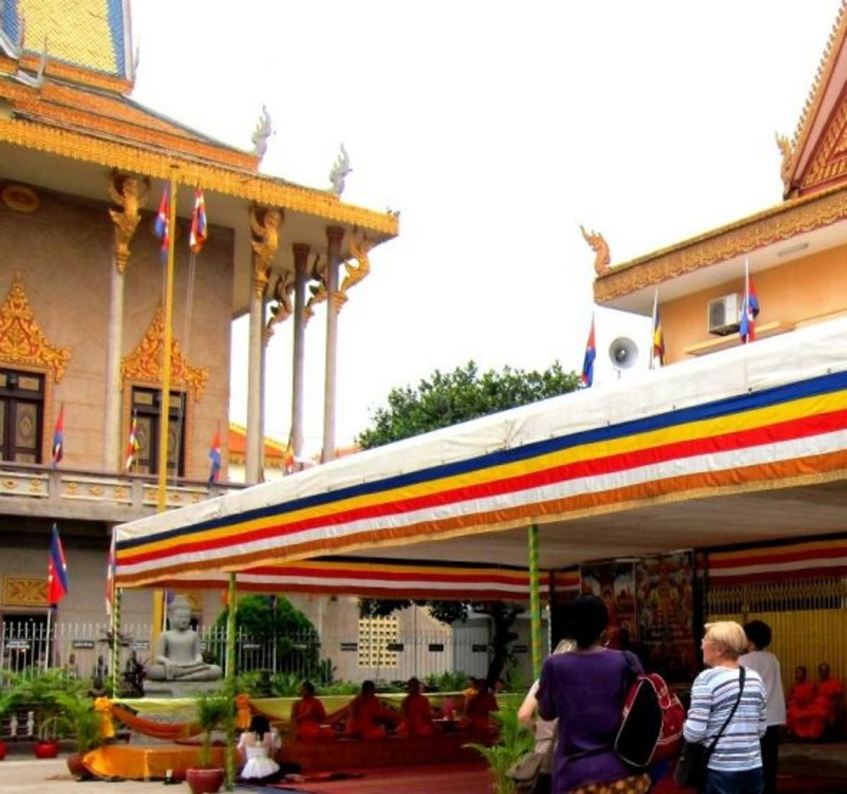 Wat Langka Pchum Ben 2012