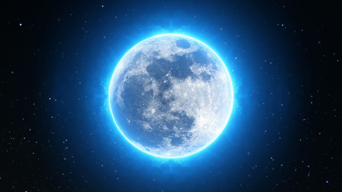 Be The Moon.  Let your light shine.