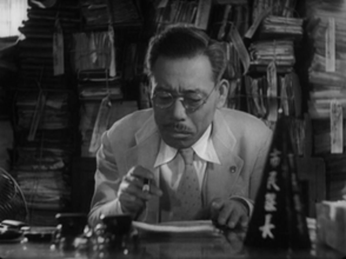 Watanabe in his office