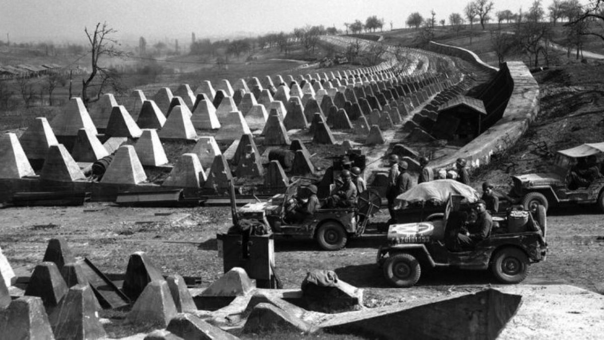 The Siegfried line has been much ridiculed for its hasty construction, but to contain the French attack in 1939 it would have certainly served well