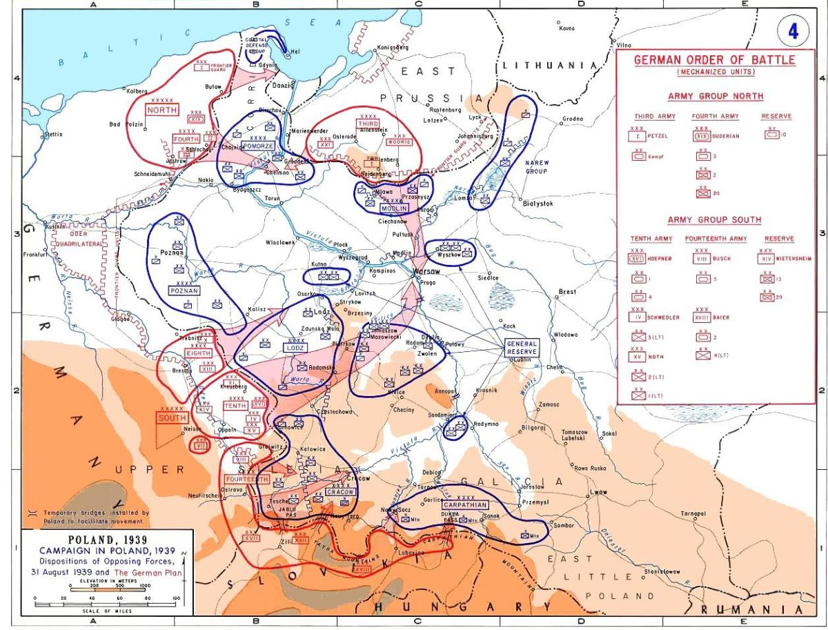 Poland needed an earlier mobilization and assurance that the British and French would really stand by them so that it could deploy its forces in depth instead of on the frontiers,  if it was to have a hope of lasting longer.