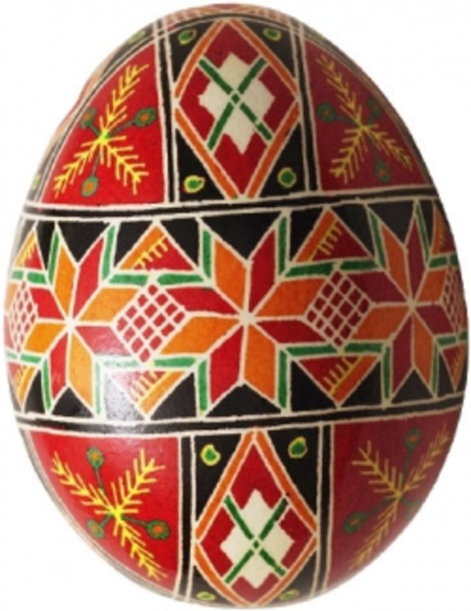 Ukrainian Pysanky Easter Eggs