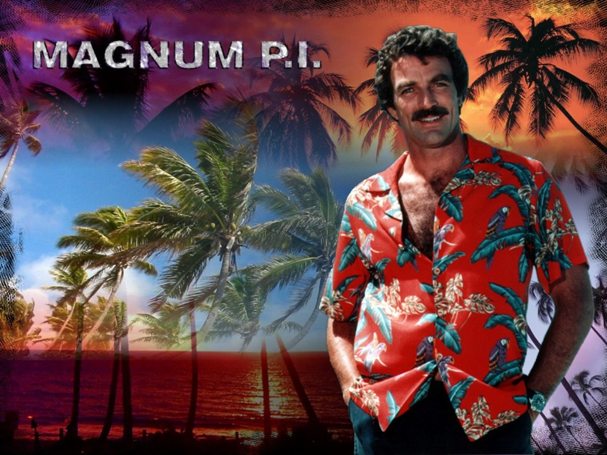 Tom Selleck was great as Thomas Magnum, the loud shirted private detective who solved crime in Hawaii