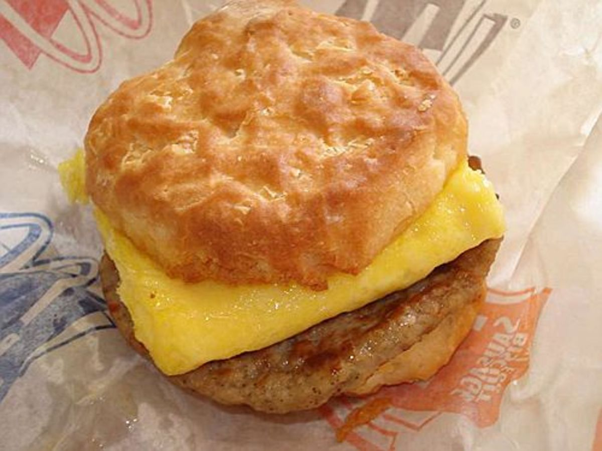 McDonald's Sausage Egg & Cheese Biscuit Poem & Nutritional Information