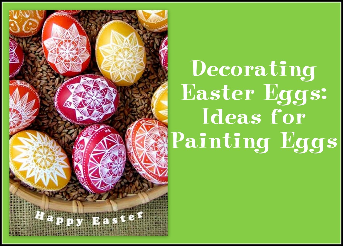 Easy and Unique Easter Egg Decorating: Fun, Creative Ideas for Painting Eggs
