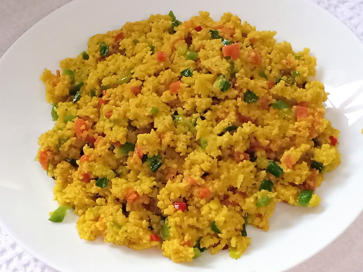 Foxtail Millet Fried Rice