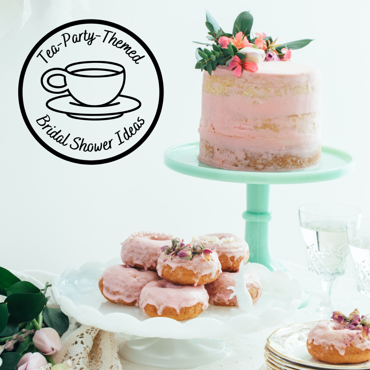 Unsure of what type of bridal shower to throw? Why not have a tea party?