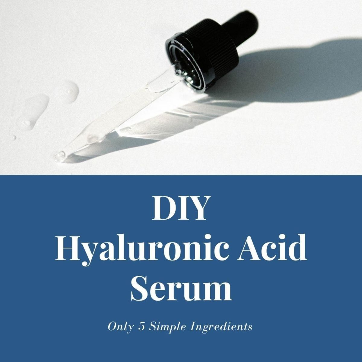 This hyaluronic acid serum will leave your skin hydrated and glowing.