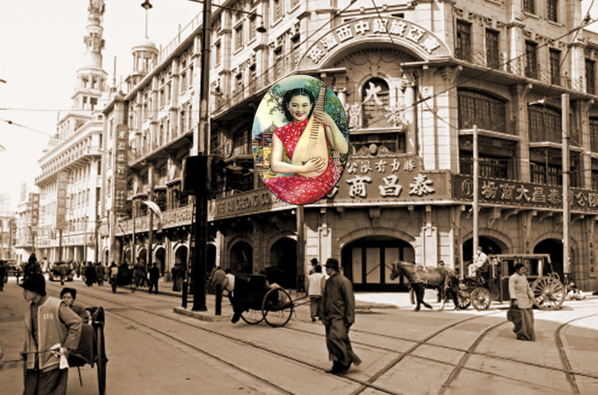 Shanghai of the 1930s, in the Western zones at least