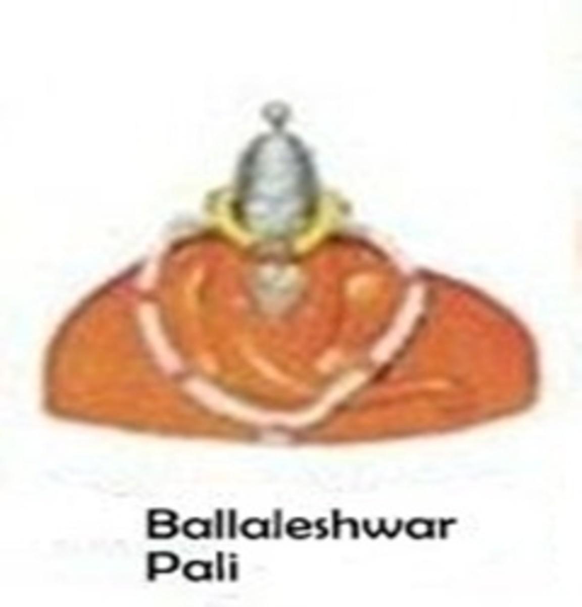 Shri Ballaleshwar Templo, Pali