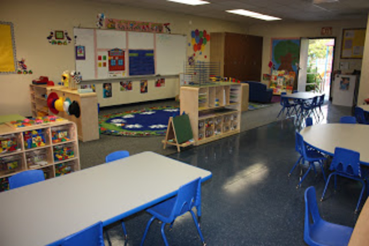 open classroom example