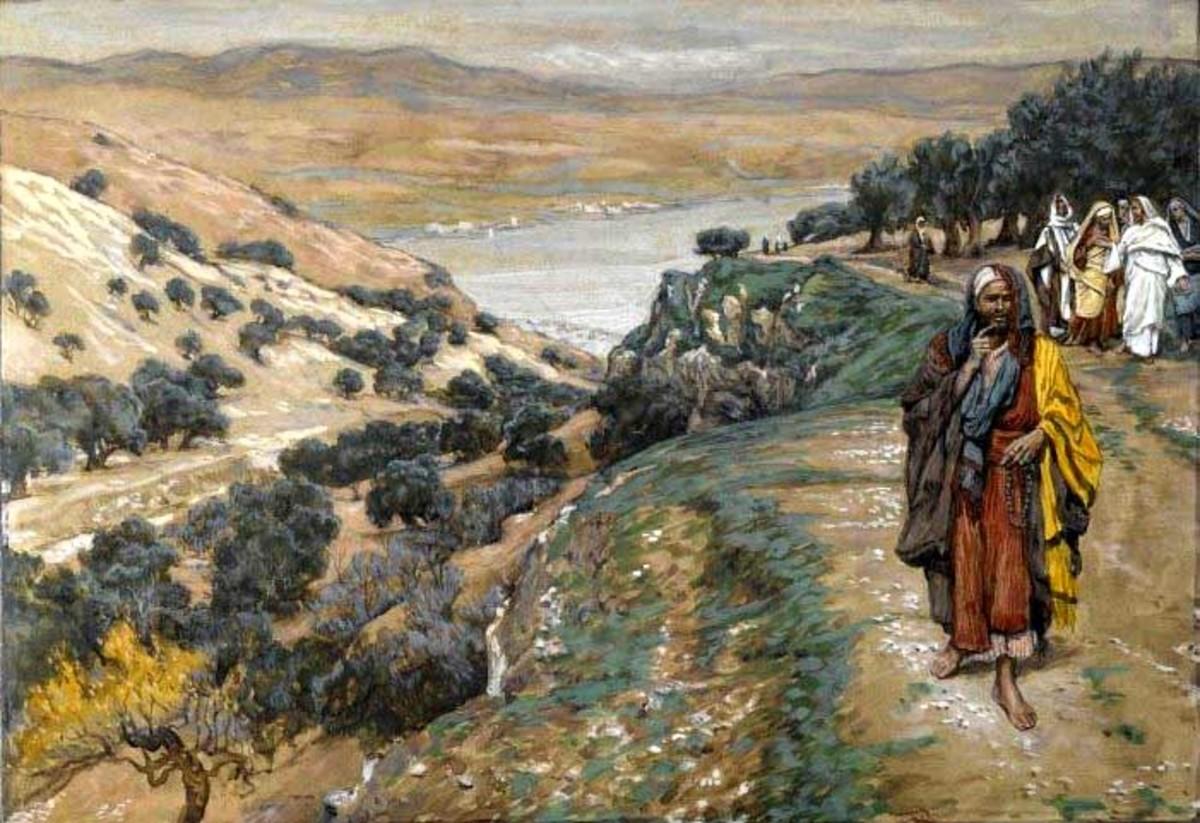 The Rich Young Man Went Away Sorrowful (Le jeune homme riche s'en alla triste) - James Tissot  (1836-1902)
