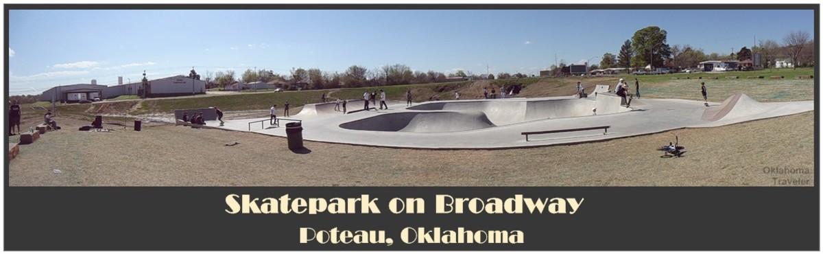 Oklahoma Skate parks: Poteau's Skatepark on Broadway
