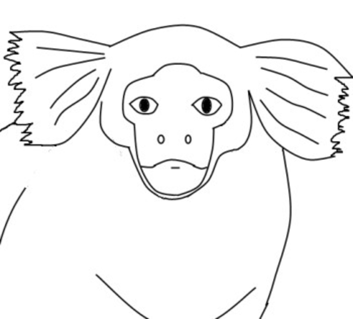 pygmy marmoset coloring pages - photo#27