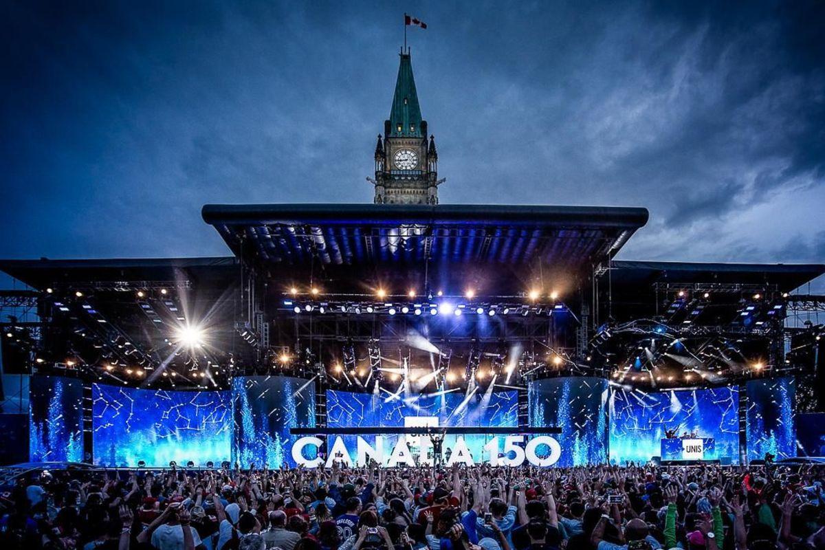 WE Day Canada 150th Anniversary