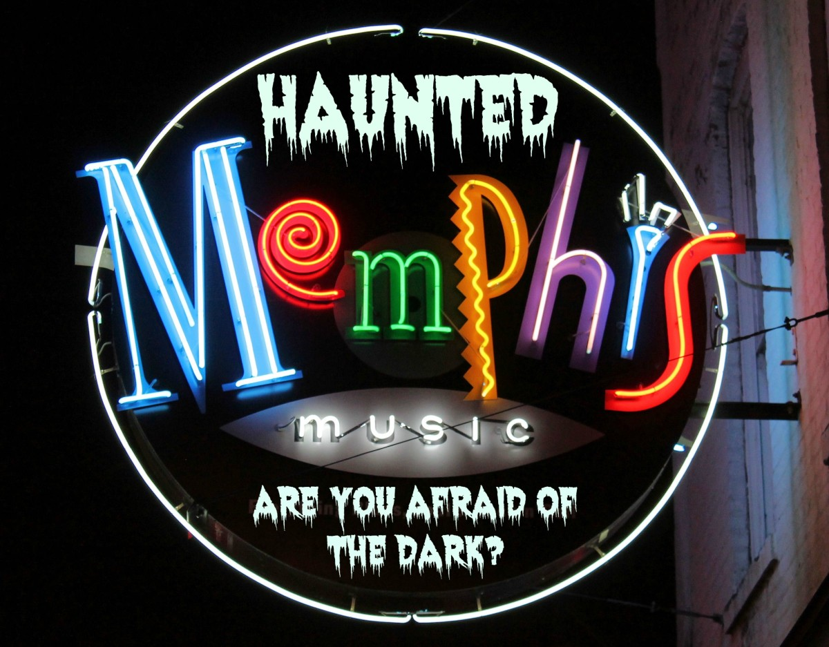 Memphis is fascinating at night, especially if you are not afraid of the dark.