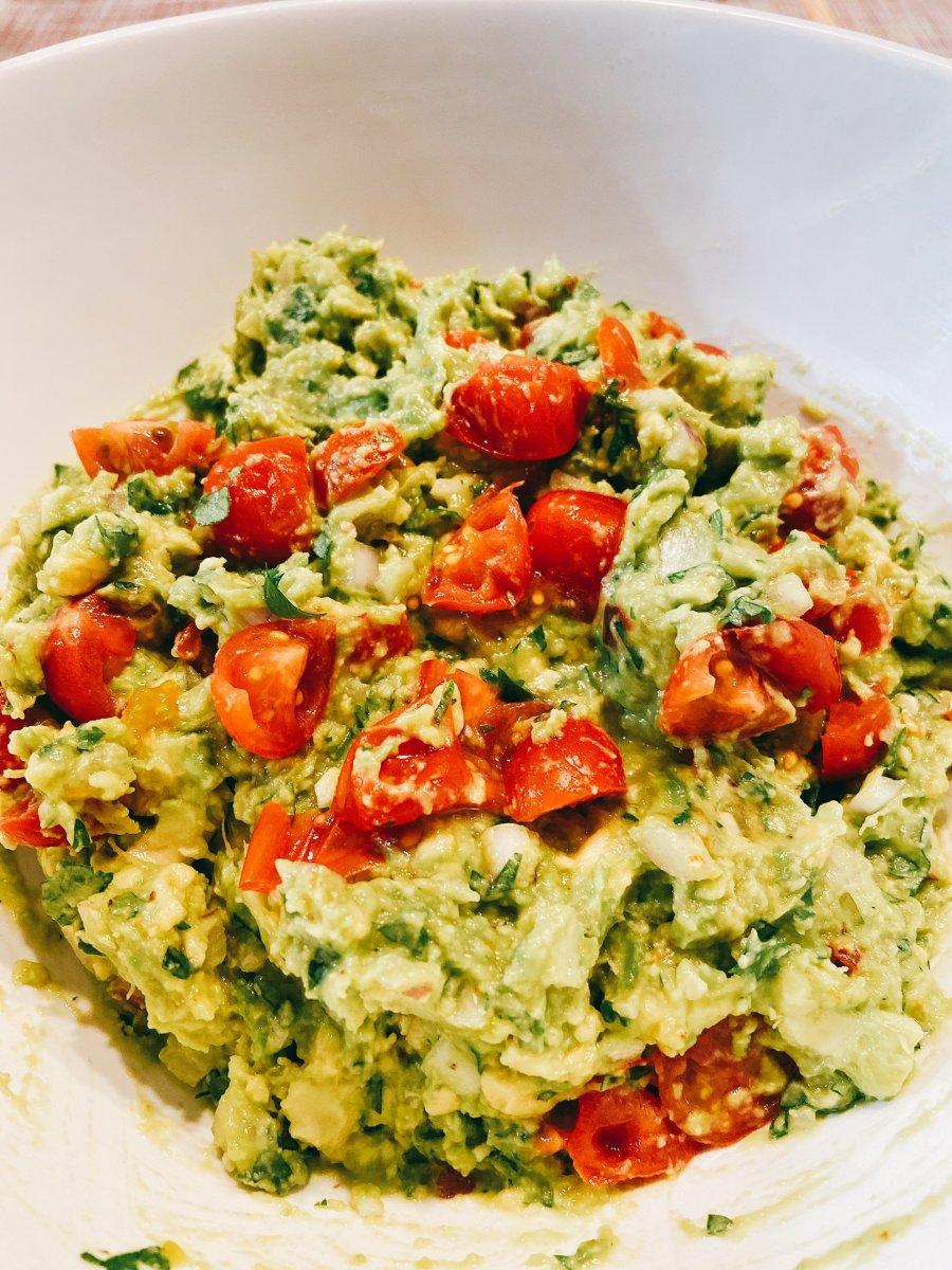 My best homemade guacamole.